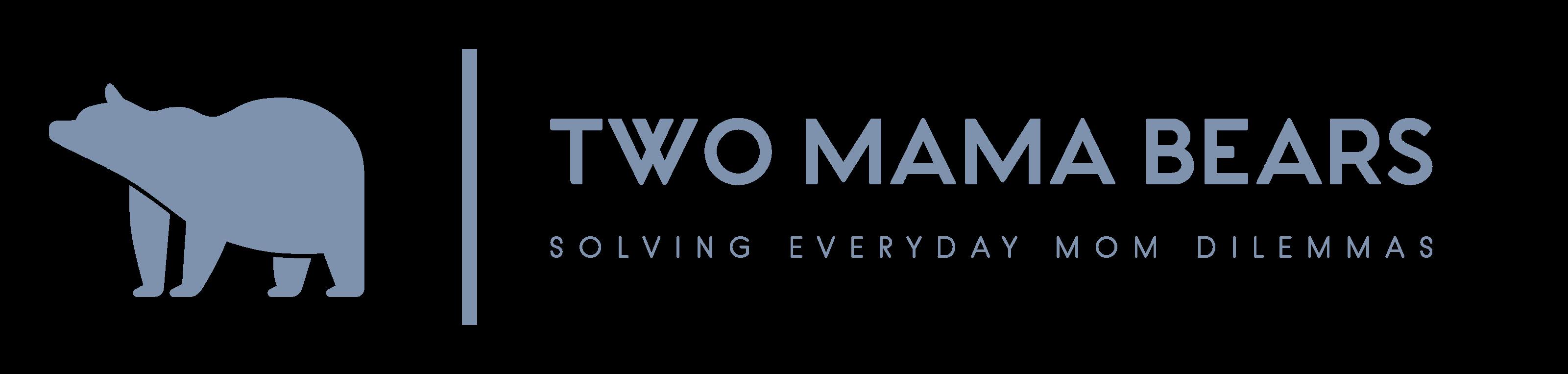 Two Mama Bears Color Logo