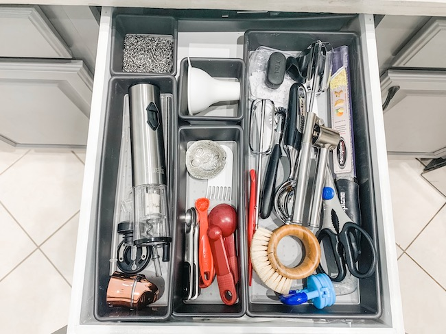 Drawer organizers gift idea for mothers