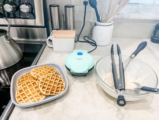 Waffle maker idea for moms