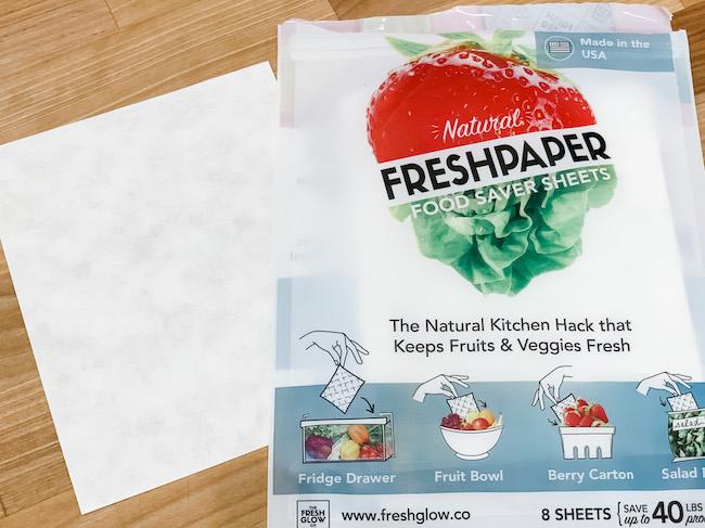Food saver sheets gift idea