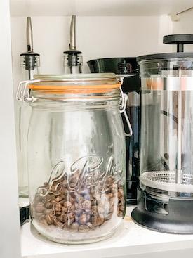 Le Parfait glass jars gift idea