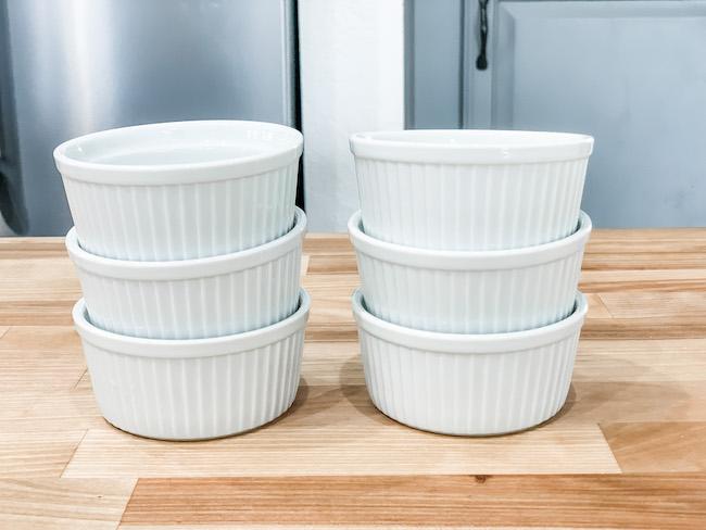 Porcelain ramekins gift idea