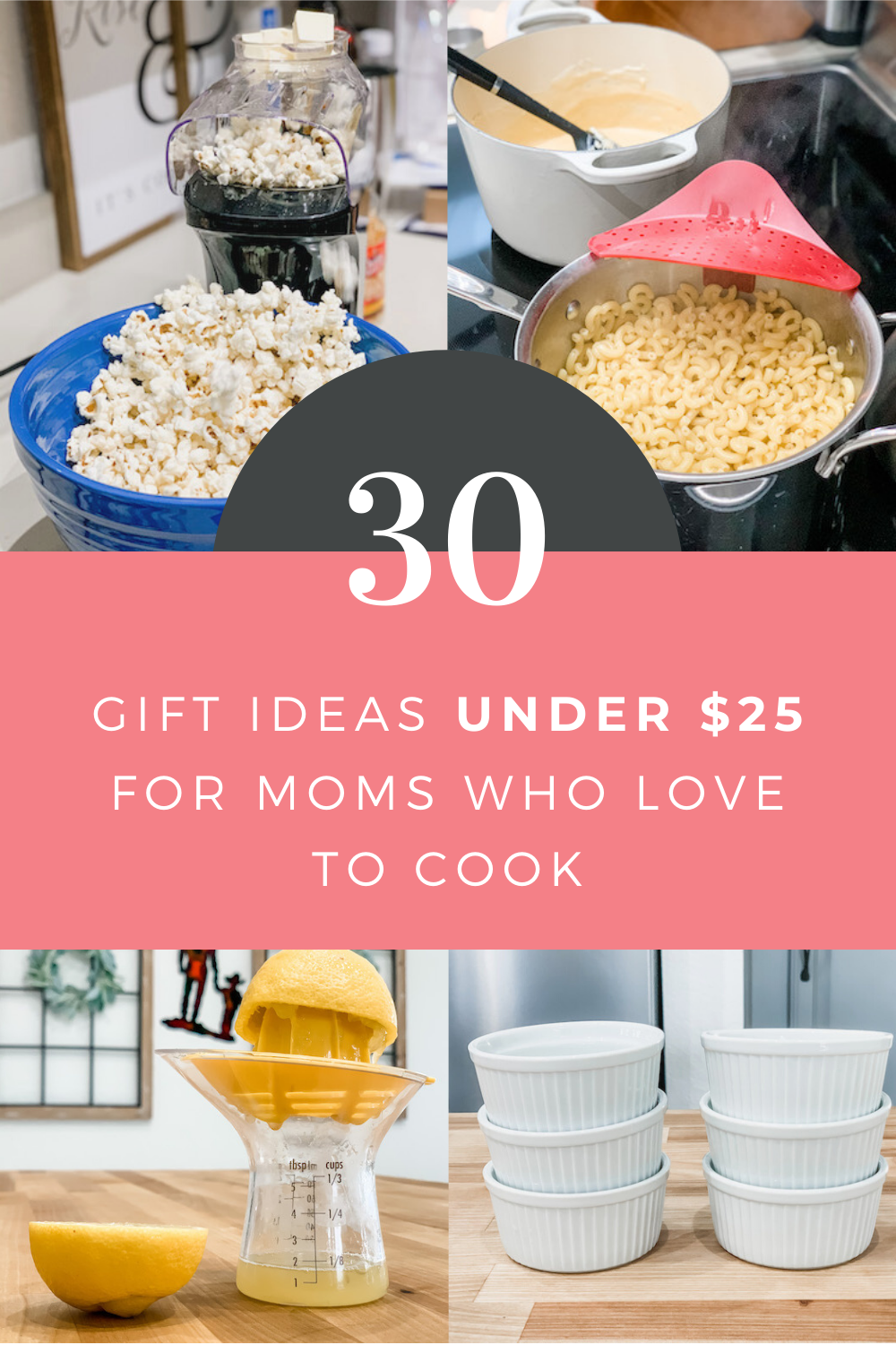 Gift Ideas Under $25 For Moms Who Love Cooking