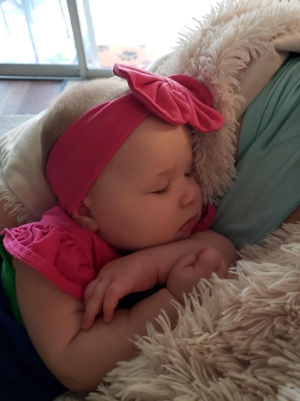 hot pink headband agin