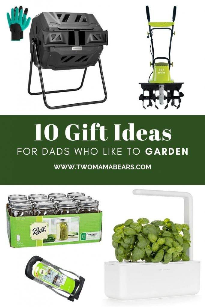 10 gift ideas for dads who like to garden