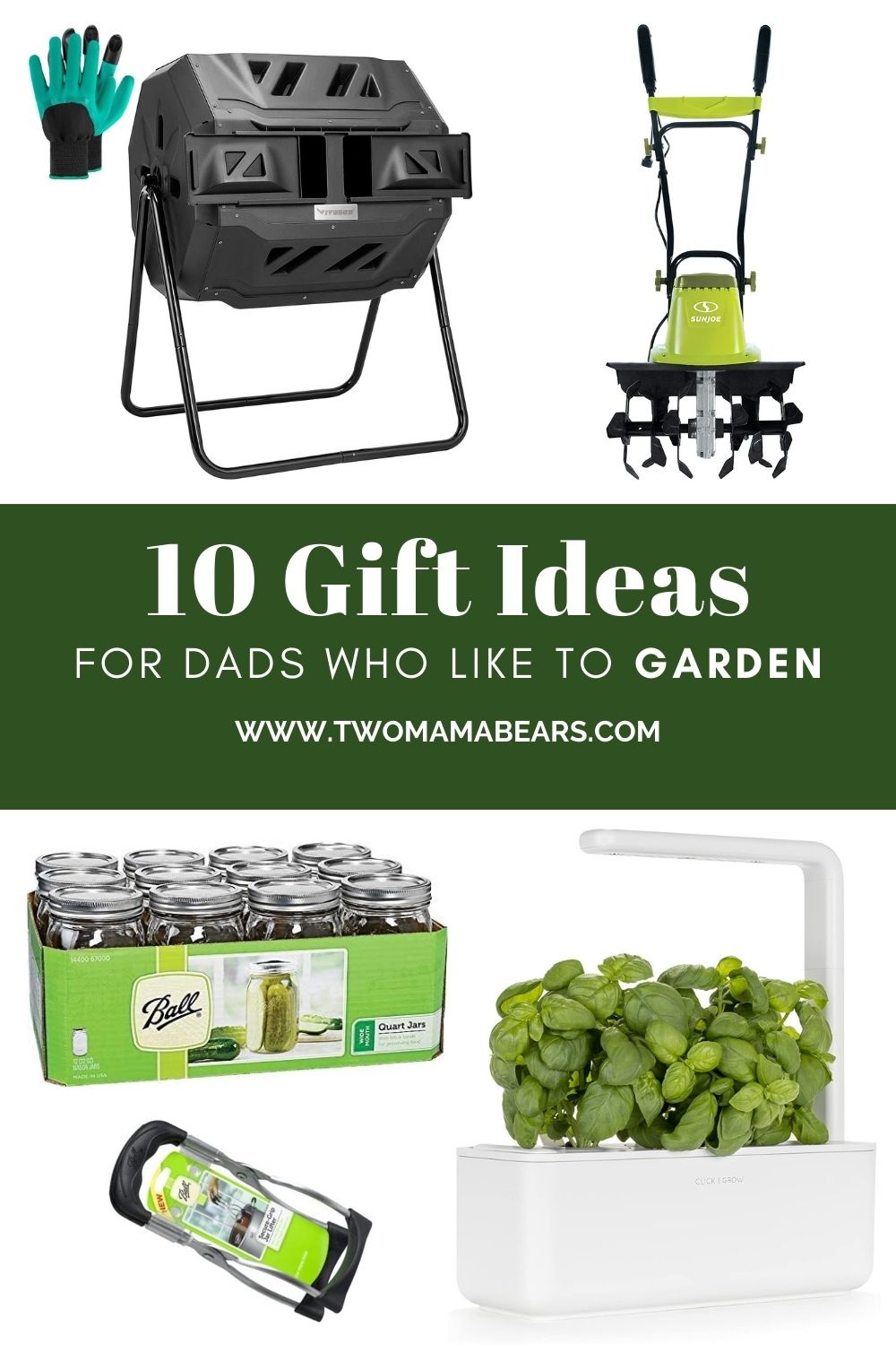 Gift ideas for dads who like to garden