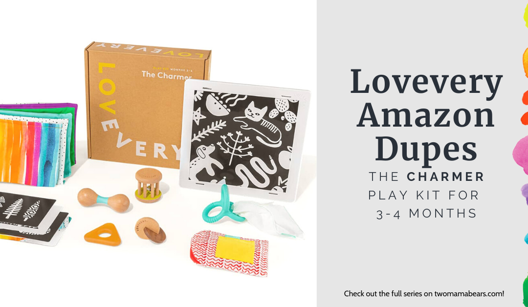 Lovevery Amazon Dupes: The Charmer Play Kit for 3-4 Months
