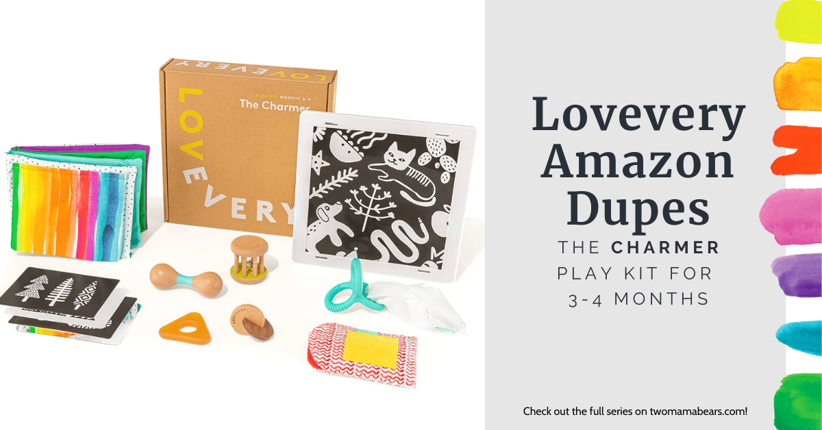 Lovevery Amazon Dupes The Charmer Play Kit for 3-4 Months
