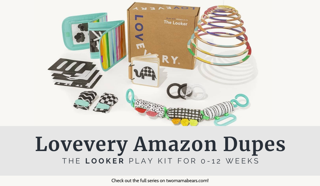Lovevery Amazon Dupes: The Looker Play Kit for 0-12 Weeks