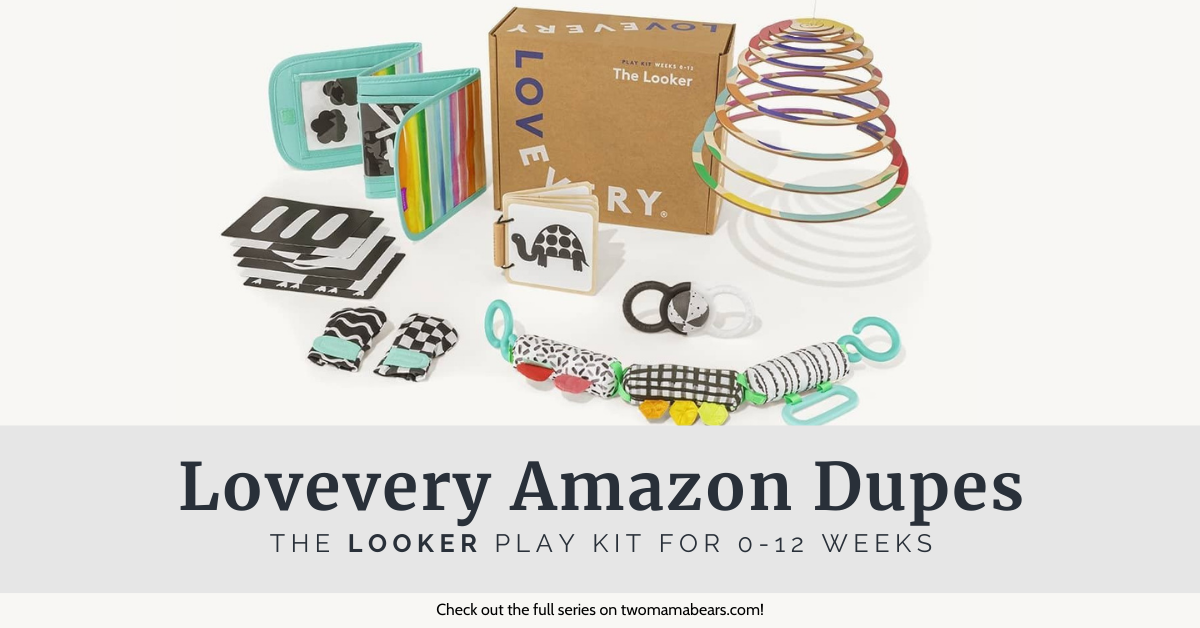 Lovevery Amazon Dupes The Looker Play Kit for 0-12 Weeks