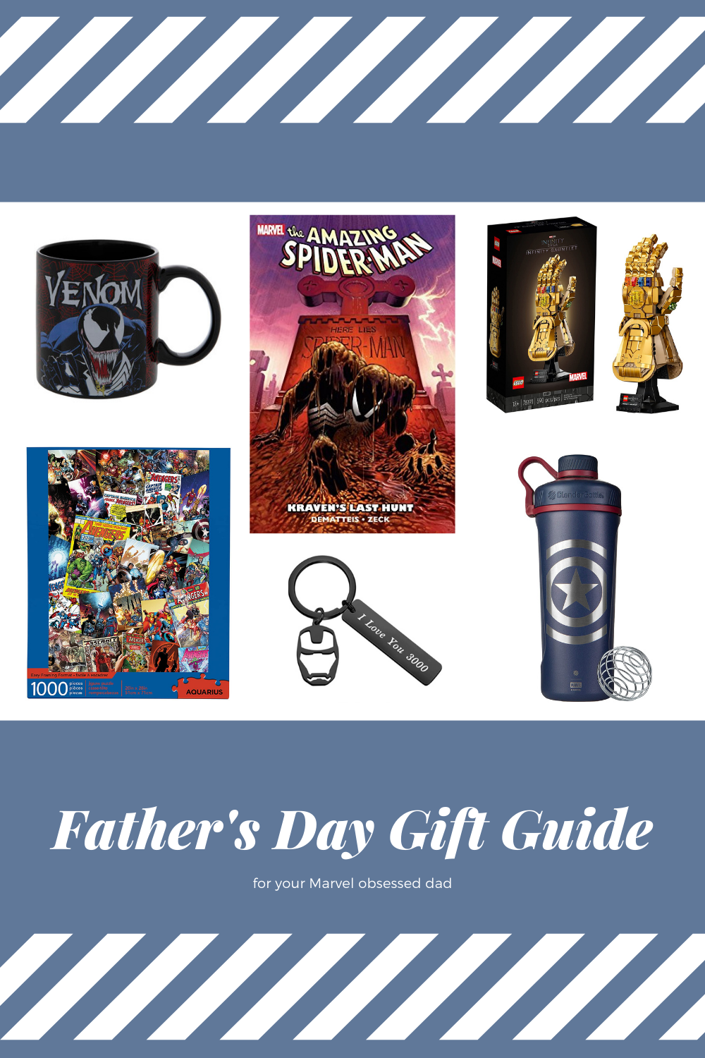 16 Gift Ideas for a Marvel-Obsessed Dad
