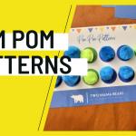 Pom Pom Pattern Activity for Preschoolers