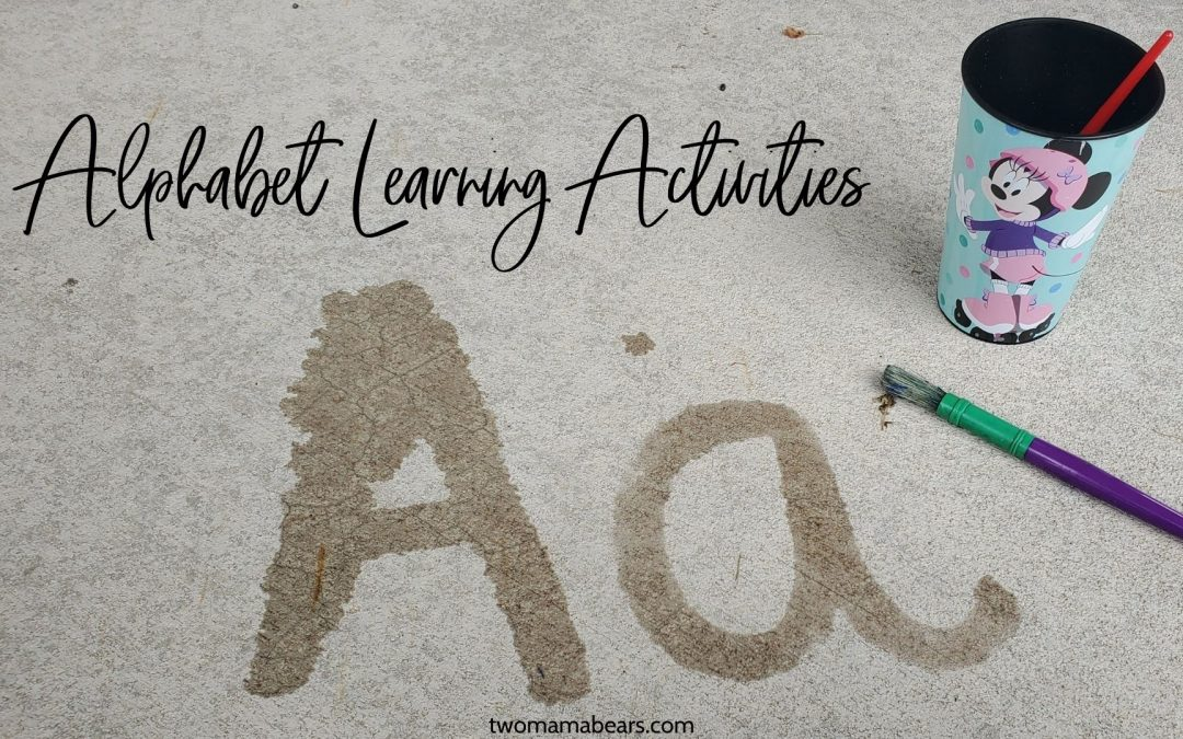 Alphabet Learning Activities: 10 of My Kids' Favorites