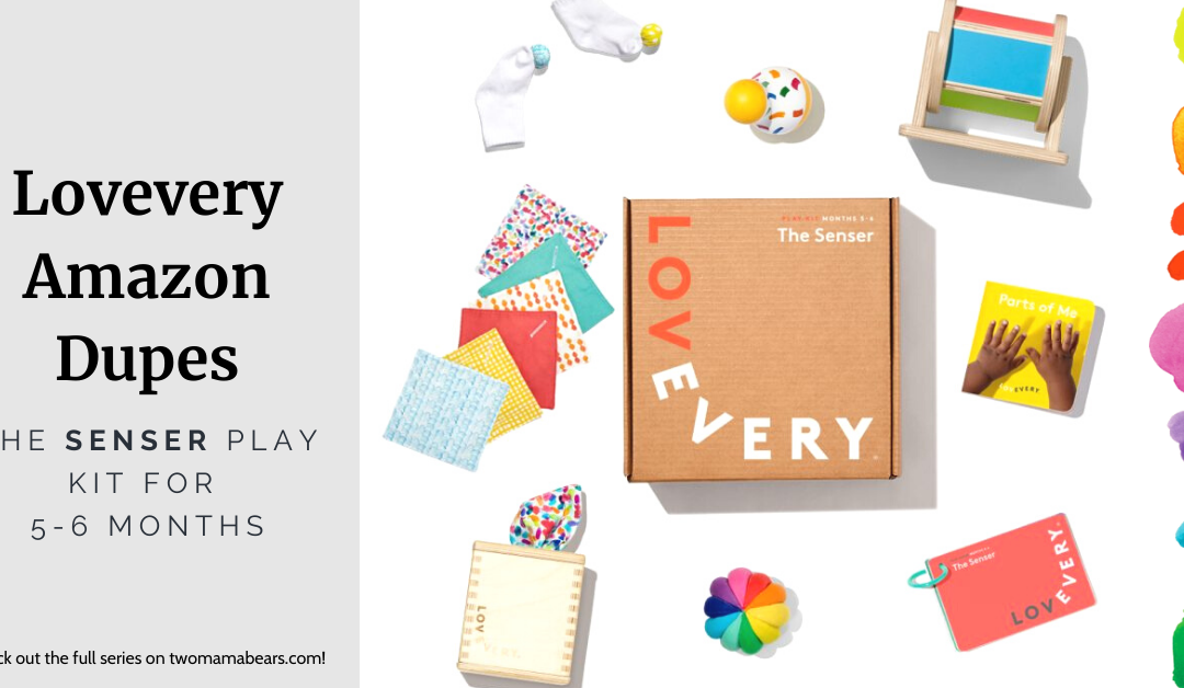 Lovevery Amazon Dupes: The Senser Play Kit for 5-6 Months