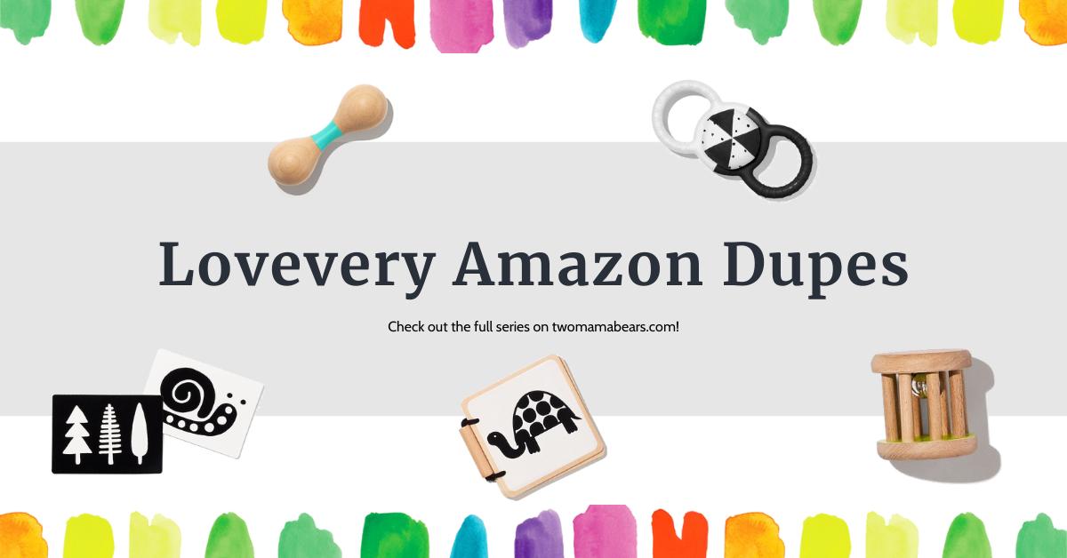 Lovevery Amazon Dupes