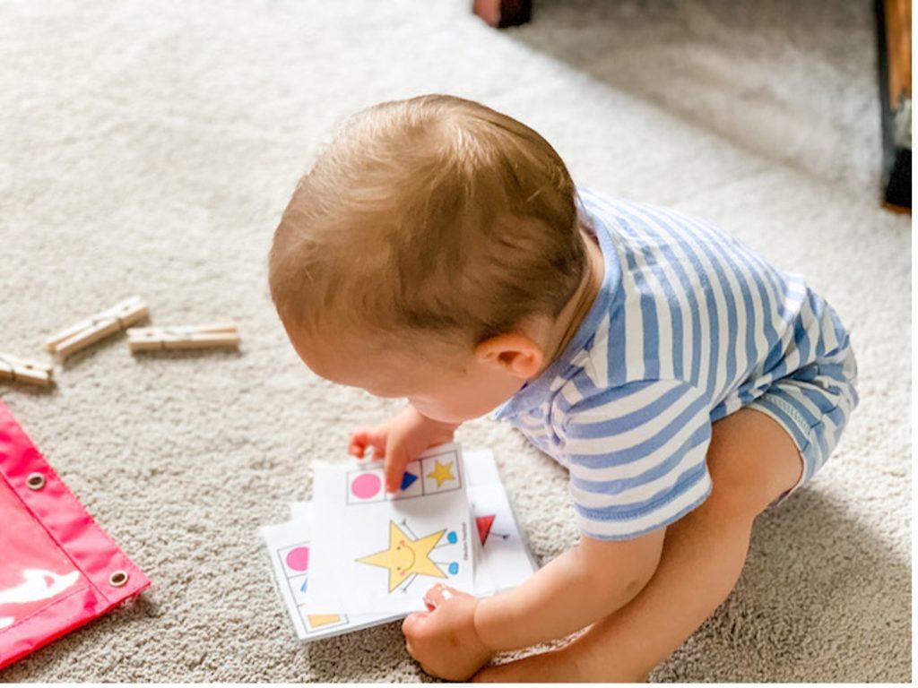 star shape laminator printable for toddleres