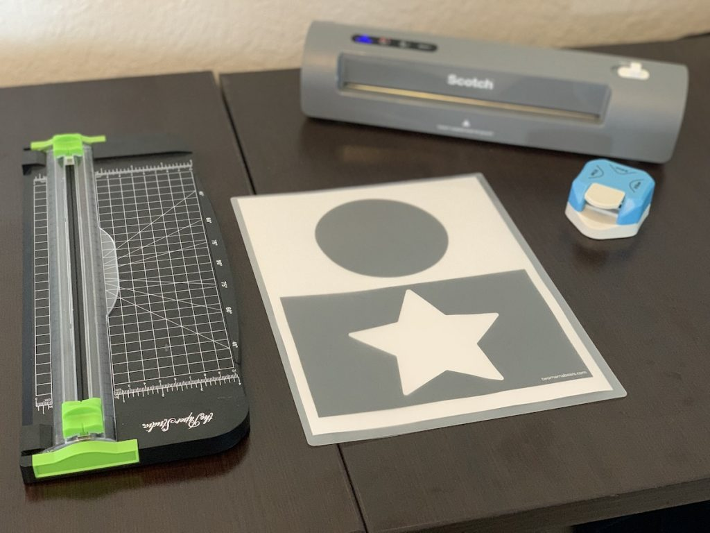 What you need for DIY infant stimulation cards