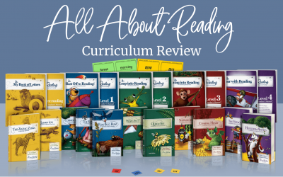 All About Reading Curriculum Review