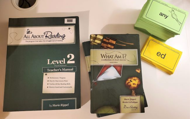 all about reading supplies