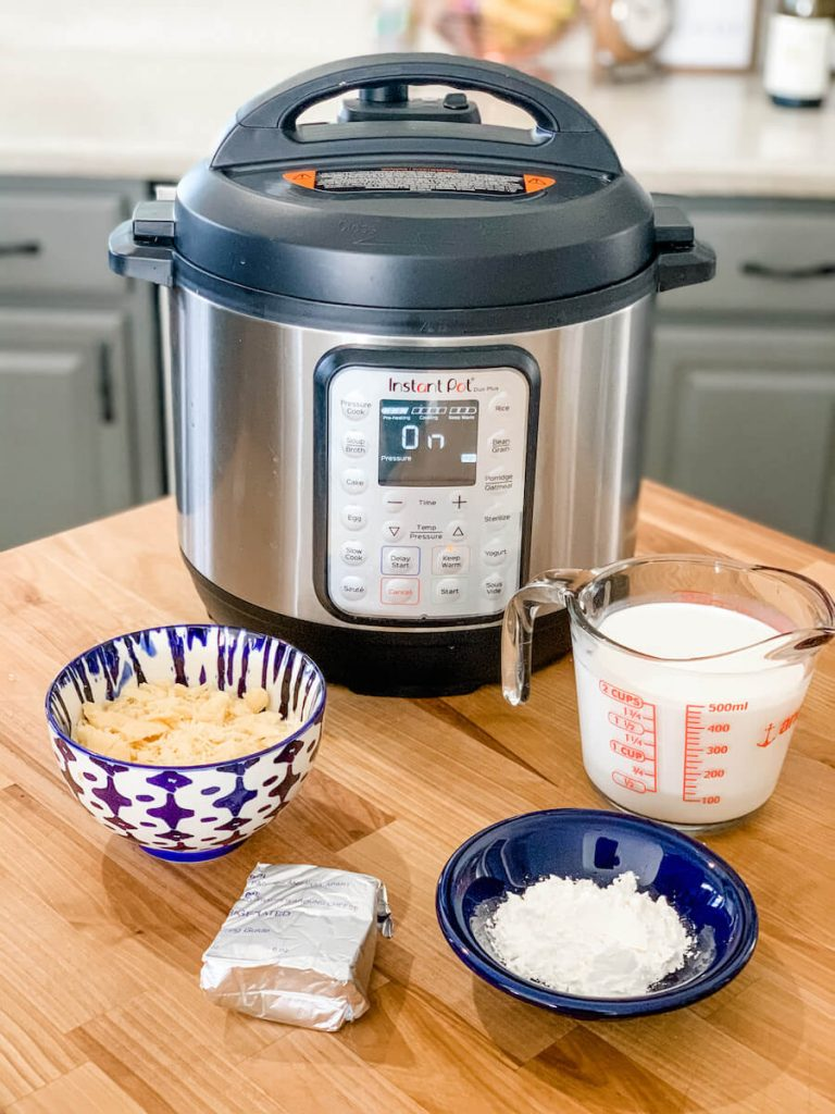 get your add-ins ready for when the instant pot is done