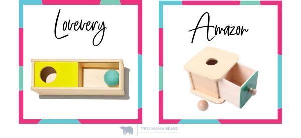 lovevery vs amazon sliding top box