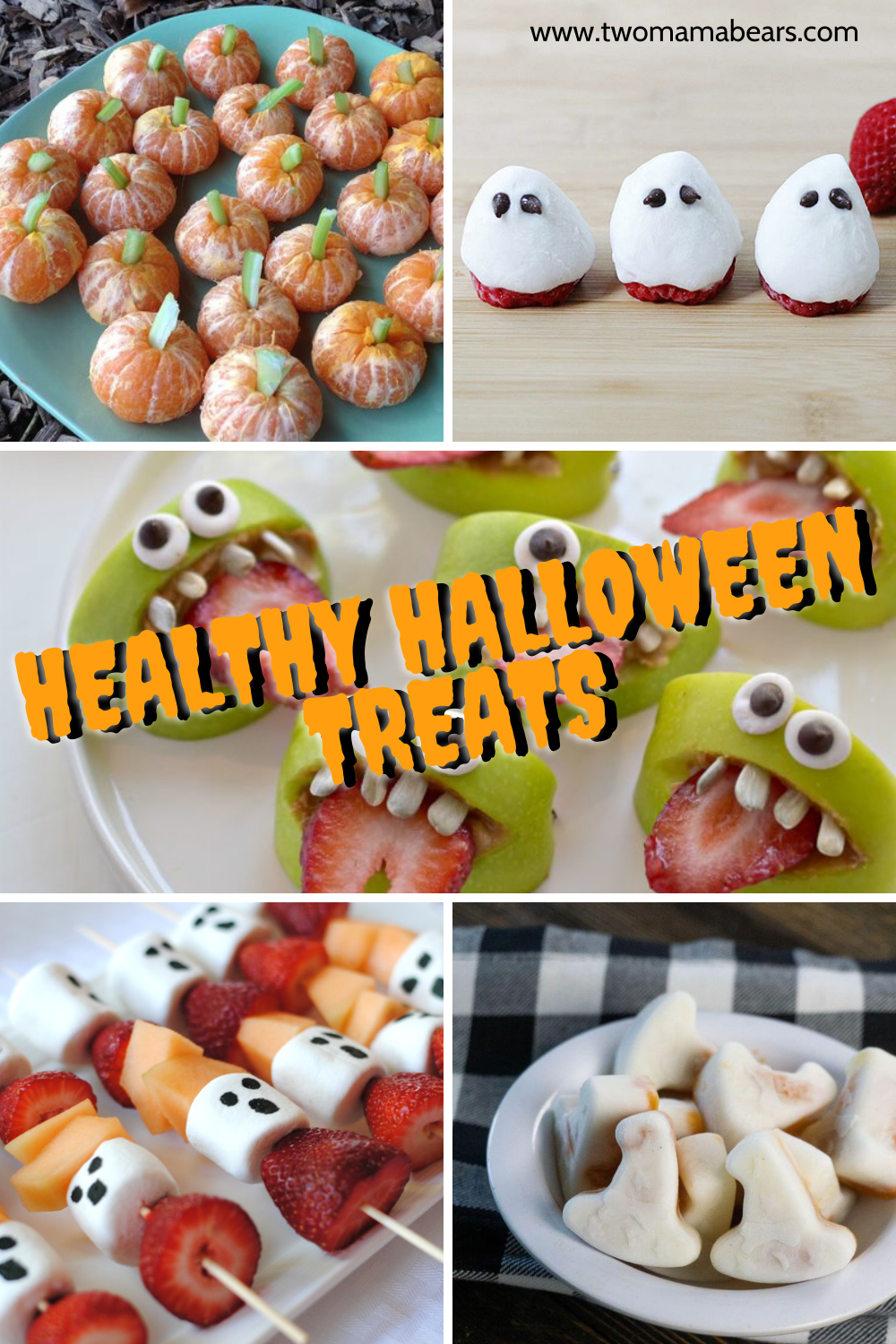Healthy halloween treats for kids and toddlers