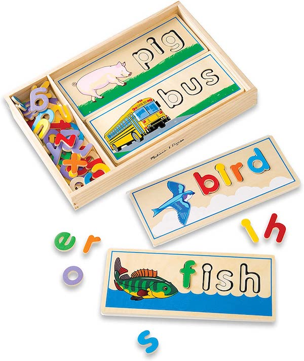 Melissa and Doug See and Spell wooden toy