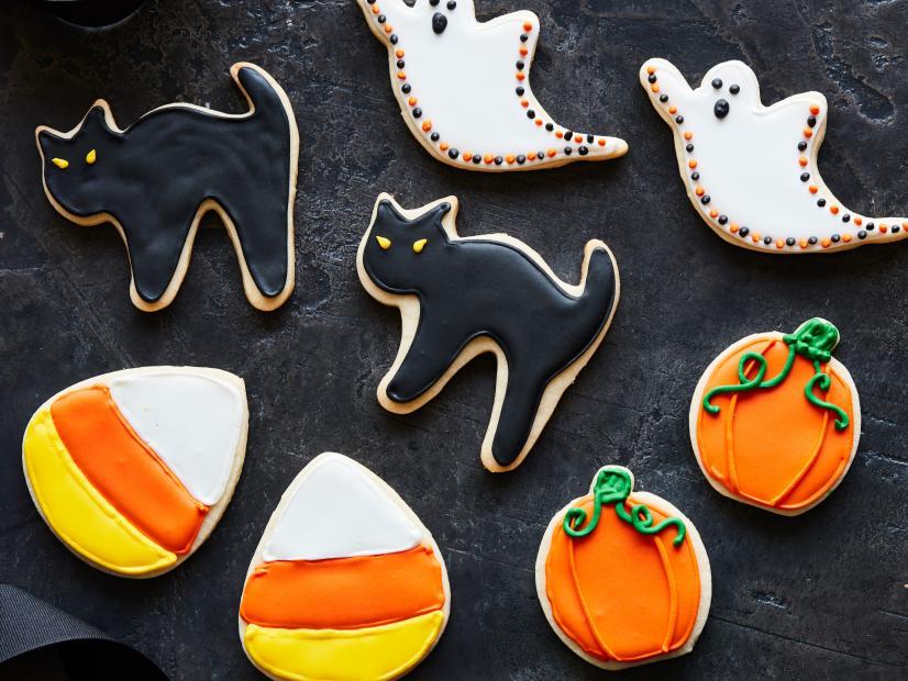 halloween sugar cookies decorating