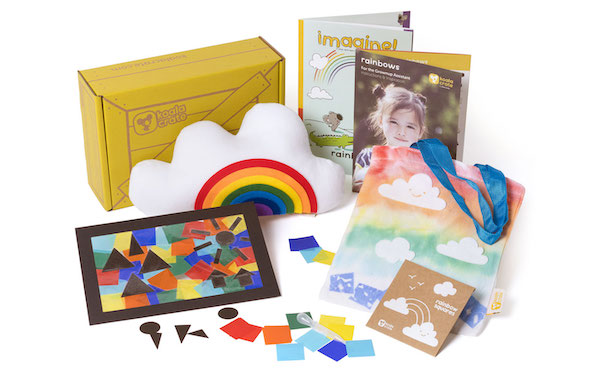 koala crate rainbow box