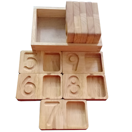 writing and counting trays