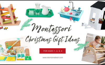 50 Montessori Christmas Gift Ideas For Ages 1, 2, 3, and 4